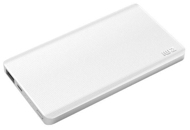 Универсальный внешний аккумулятор (Power Bank) Xiaomi ZMI Power Bank QB805 (5000 mAh) (white)