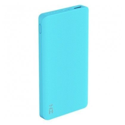 Универсальный внешний аккумулятор (Power Bank) Xiaomi ZMI Power Bank QB810 (10000 mAh) (blue)