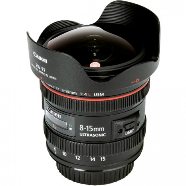 Canon EF 8-15mm f/4.0L Fisheye USM( japan)