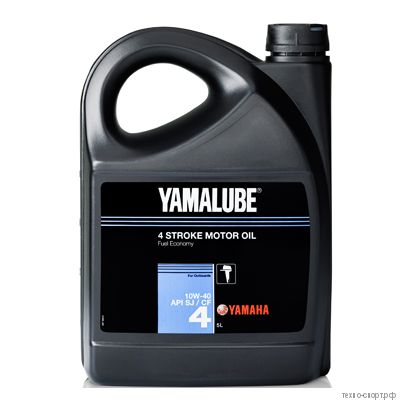 Yamalube 4 SAE 10W-40 API SJ/CF Marine Synthetic Oil (5 л)