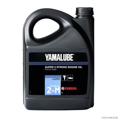 Yamalube 2-M TC-W3 RL, 2-тактное минеральное для ПЛМ (5 л) YMD6302105A2