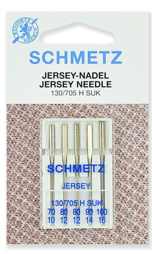 Иглы Schmetz джерси, набор №70-100 (5шт.)