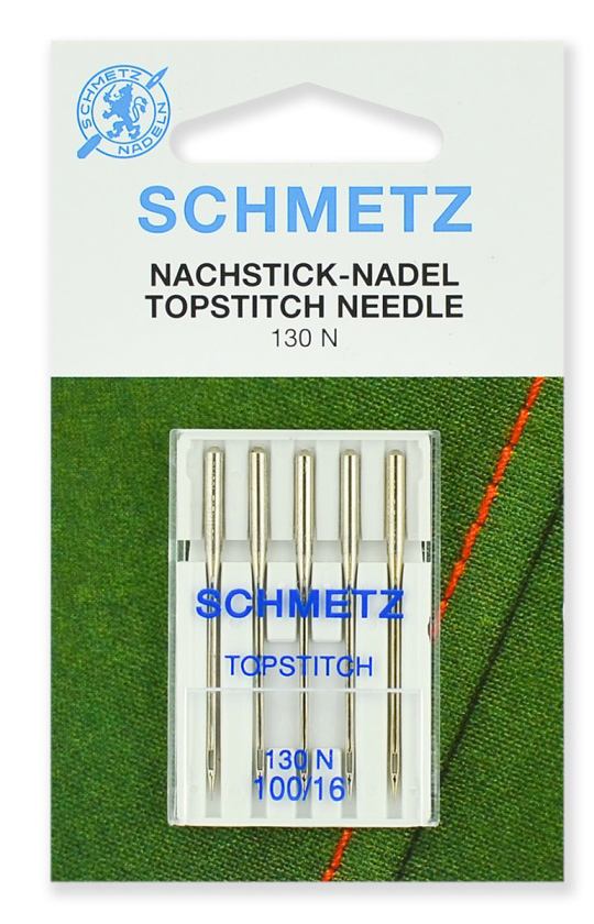 Иглы Schmetz Top Stitch №100 (5шт.)