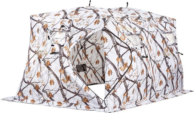 Палатка   зимняя HIGASHI DOUBLE WINTER CAMO PYRAMID PRO