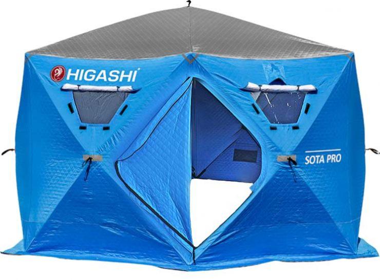 Палатка зимняя HIGASHI SOTA PRO 360*360*210
