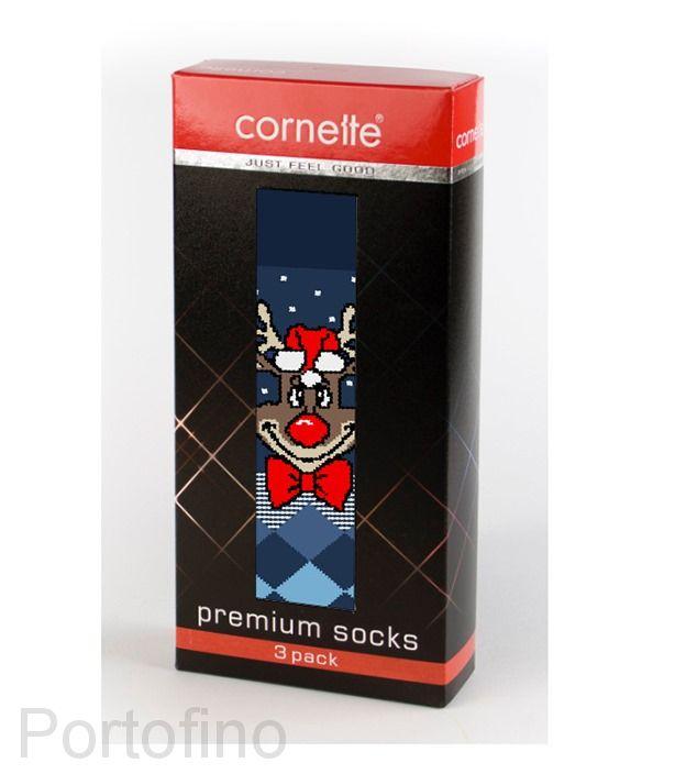 Носки мужские Cornette Premium 3 пары