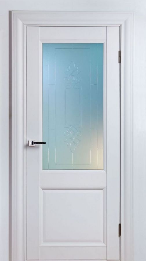 Дверное полотно Classik-1 SF Белый Шёлк