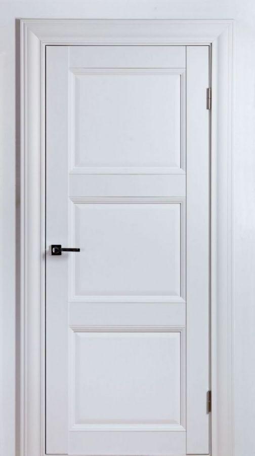 Дверной блок Classik 2 F Белый Шёлк