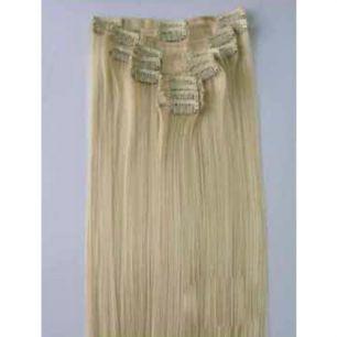 Искусственные термостойкие волосы на заколках №613 (55 см) - 12 заколок, 130 гр.