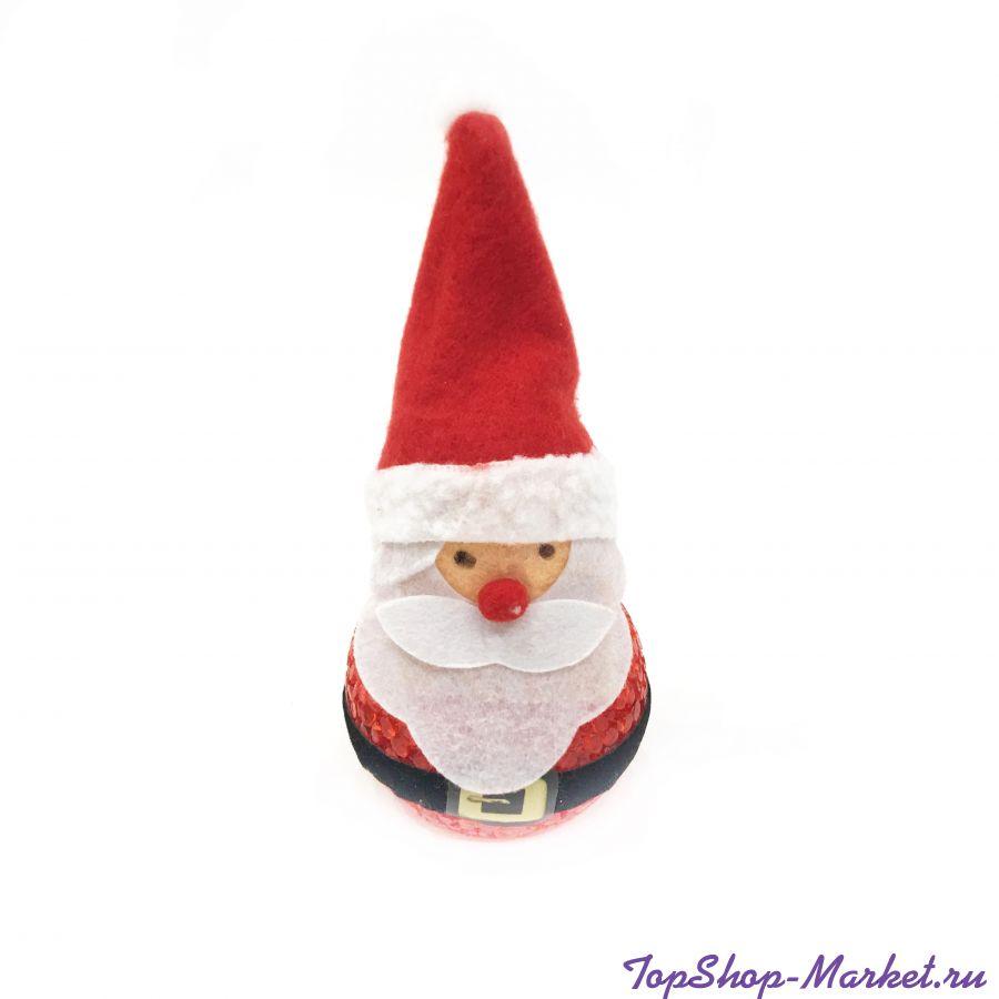 Светящаяся фигурка Деда Мороза, 14 см