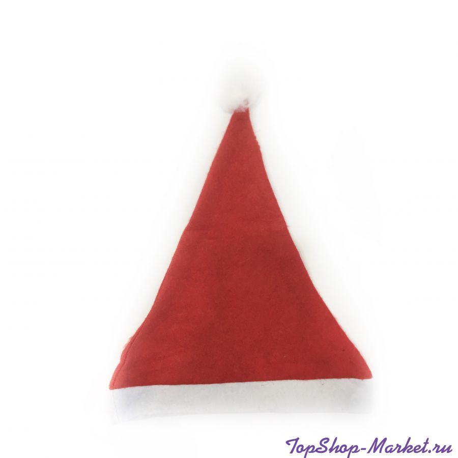 Красный новогодний колпак