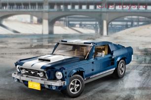 Конструктор Lari Creator Ford Mustang 11293 (10265) 1471 дет