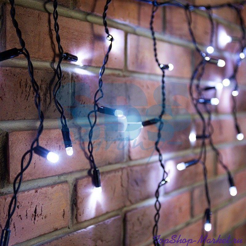 Гирлянда Бахрома 240 LED, 4х0.7 м, Разноцветный
