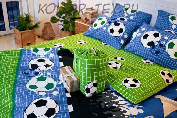 Постельное белье из фланели Футбол,  ASHGABAD TEXTILE