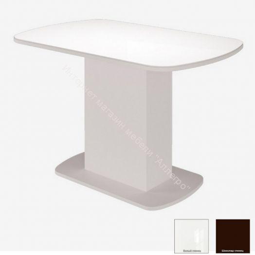 Стол Соренто стекло глянец