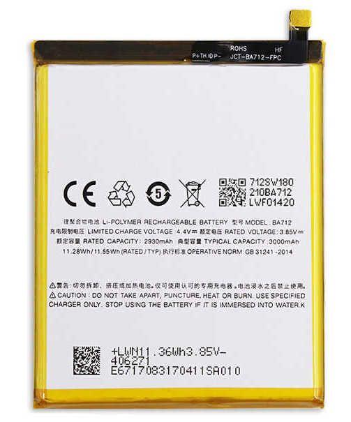 Аккумулятор Meizu M6s (BA712) Оригинал