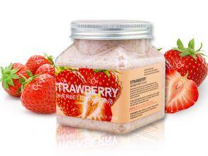 Скраб для тела Wokali Strawberry Sherbet Body Scrub 350 мл