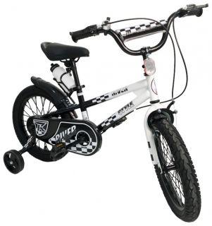 Детский велосипед RIVERBIKE-F-16-BLACK-WHITE