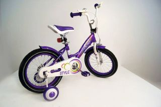 Детский велосипед RIVERBIKE-M-16-VIOLET