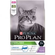 Pro Plan Sterilized 7+ Для пожилых кастрированных котов и стерилизованных кошек (10 кг)
