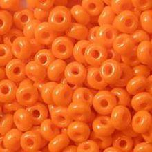 Бисер чешский 93140 непрозрачный оранжевый Preciosa 1 сорт