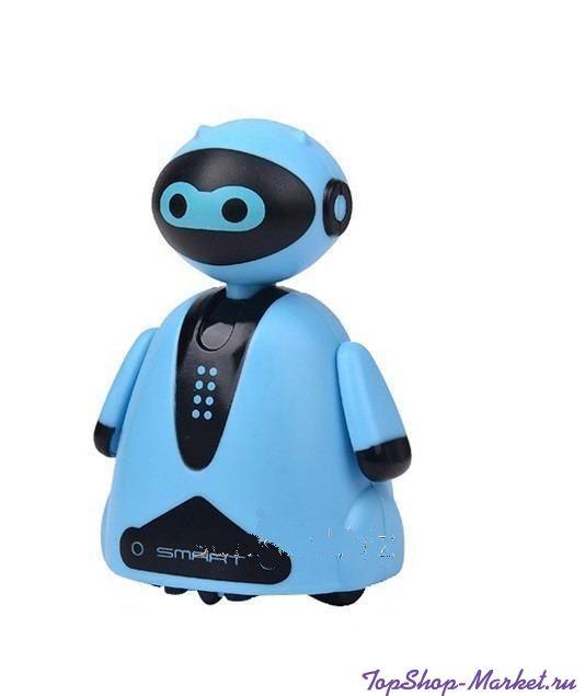Индуктивная игрушка Робот с LED сенсором, Цвет: Голубой