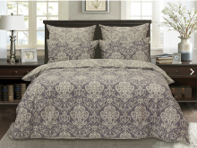 Постельное белье Сатин Брауни 2-спальный Арт.1640-2