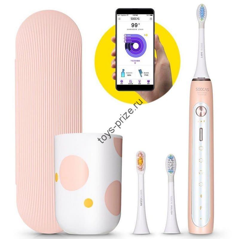 Электрическая зубная щетка Xiaomi SOOCAS X5 Sonic pink