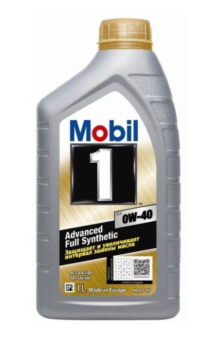 Моторное масло Mobil 1 Protect Formula 0W40 1л