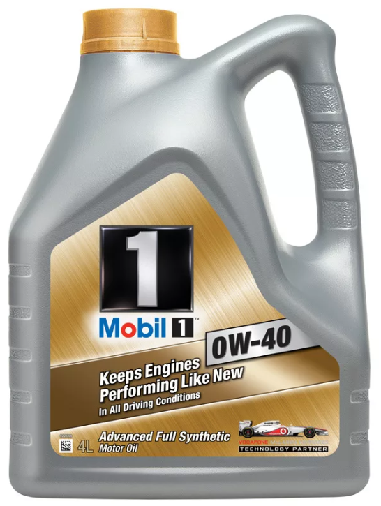 Моторное масло Mobil 1 Protect Formula 0W40 4 л