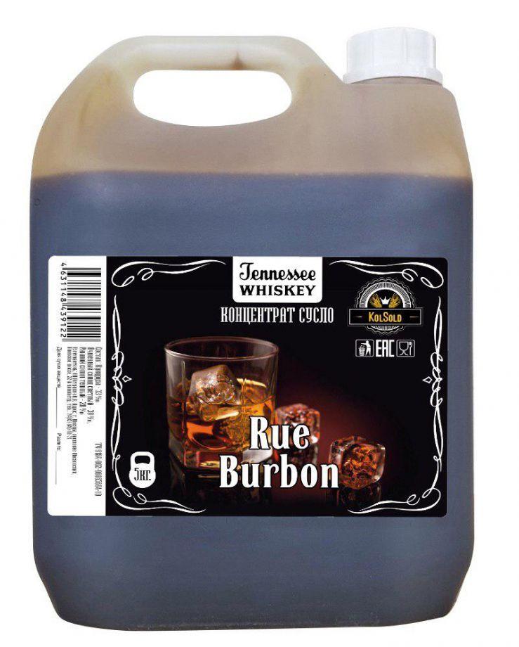 БУРБОН Rue, неохмеленное кукурузное сусло с рожью, 5 кг