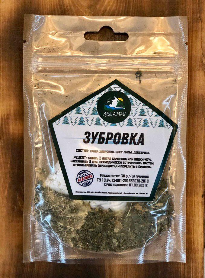 Зубровка, 30 гр (на 2 литра)