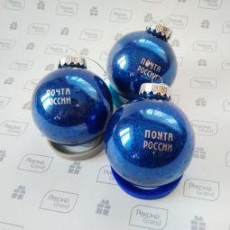 елочные шары с логотипом