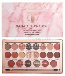 ПАЛЕТКА ТЕНЕЙ ДЛЯ ВЕК REVOLUTION DANA ALTUWARISH SHADOW PALETTE