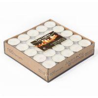 Свечи Чайные 100 шт  Цвет Белый (2)