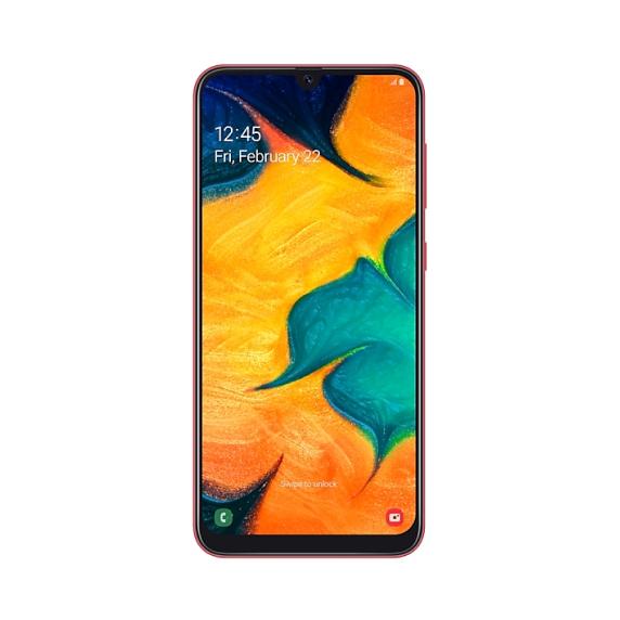 Samsung Galaxy A30 64 ГБ (красный)