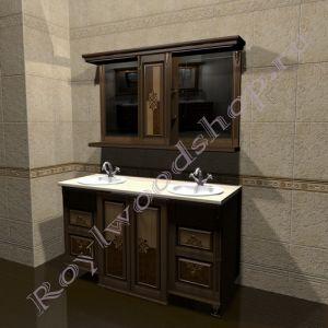 """Комплект для ванной """"Челси-2 double M орех""""                         Внимание: узнать цену за выбранный Вами состав можно в свитке """"КОМПЛЕКТАЦИЯ"""""""