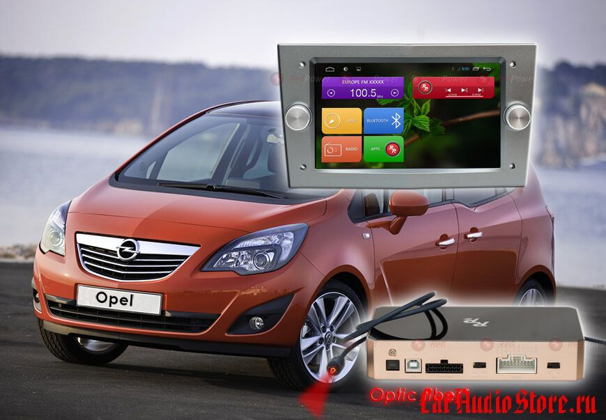 Opel (цвет темно-серый) Redpower 31019 IPS DSP ANDROID 7 (31019 DG IPS DSP)