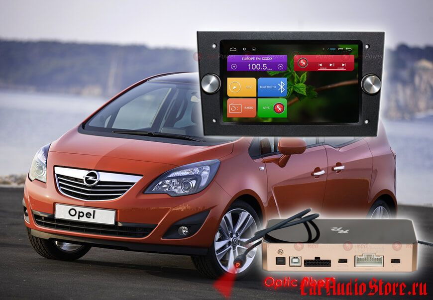 Opel (цвет черный) Redpower 31019 IPS DSP ANDROID 7 (31019 B IPS DSP)
