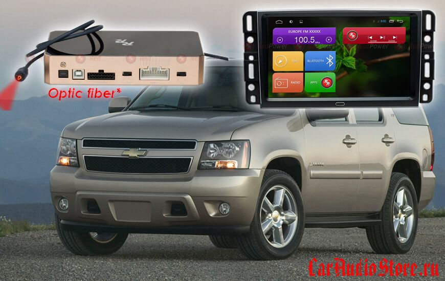 Chevrolet Tahoe Redpower 31021 IPS DSP ANDROID 7