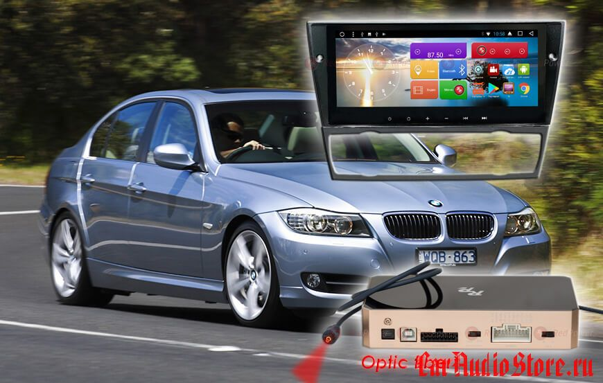 BMW 3 серии Redpower 31082 IPS DSP (2009-2012)