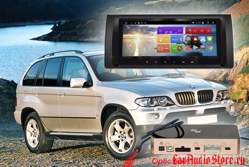 BMW X5 (кузов E53) Redpower 31083 IPS DSP