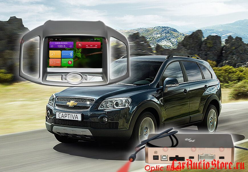 Chevrolet Captiva с 2012 г. Redpower 31109 IPS DSP ANDROID 7