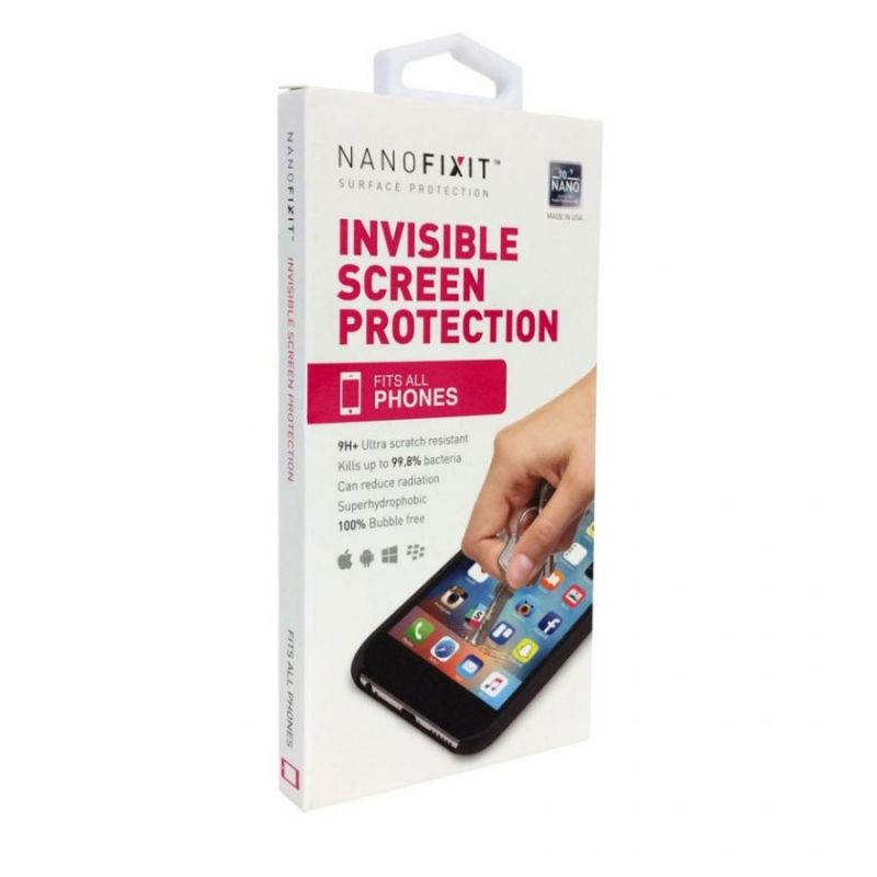 Жидкое покрытие для защиты экрана телефона NANOFIXIT