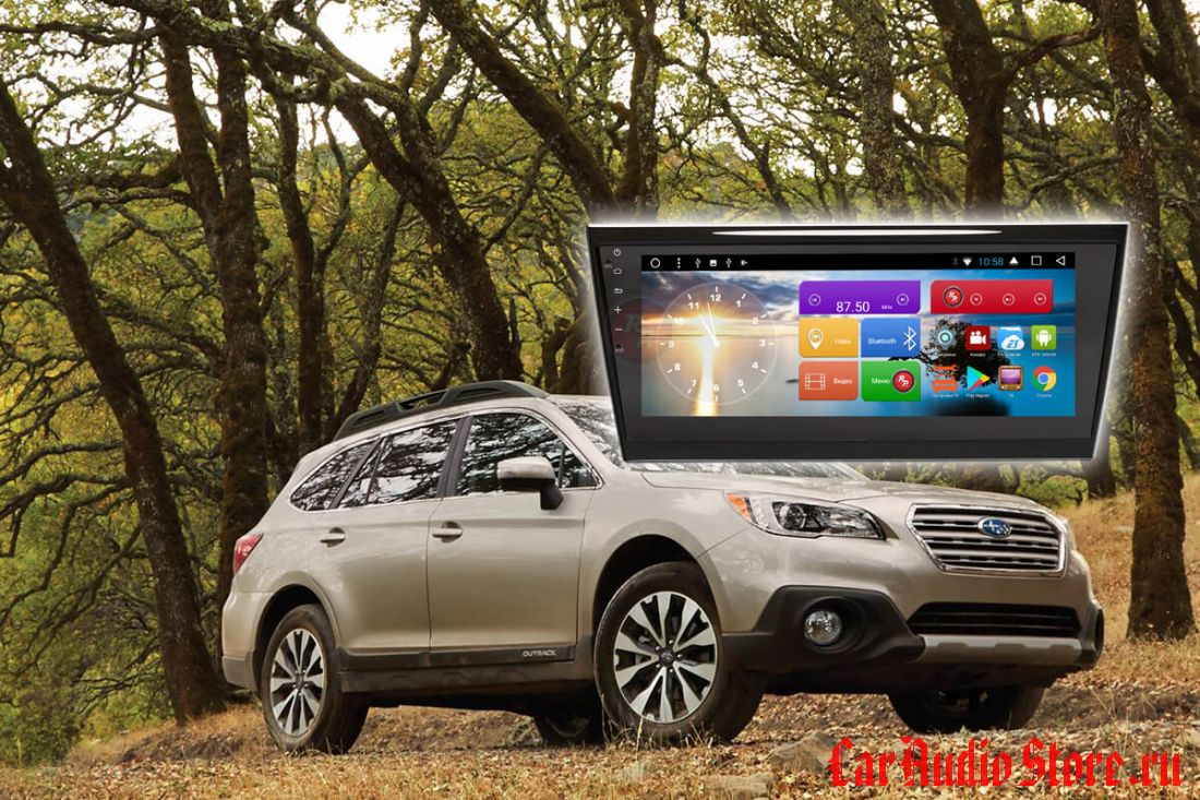 Subaru Outback 2017 Redpower 31563 IPS DSP