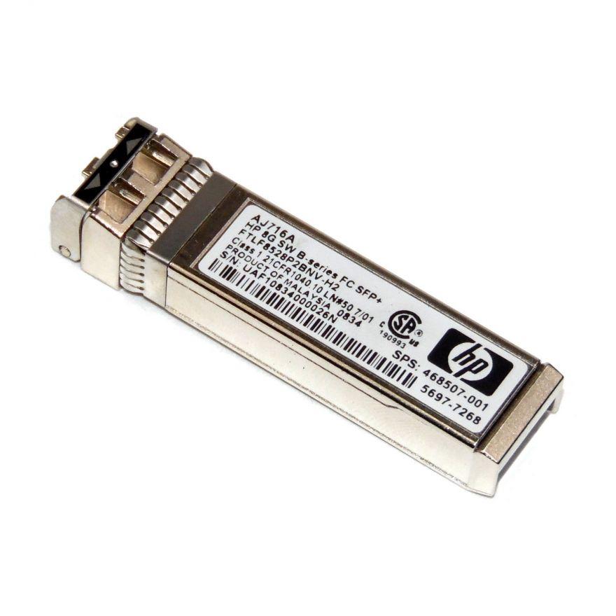 Оптический трансивер HP 8Gb SFP+ FC, AJ716B
