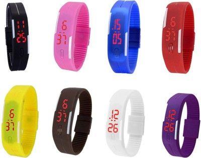 Часы наручные спортивные S-200  (Голубые)