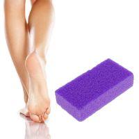 Искусcтвенная пемза для ног ADORO, Цвет Фиолетовый
