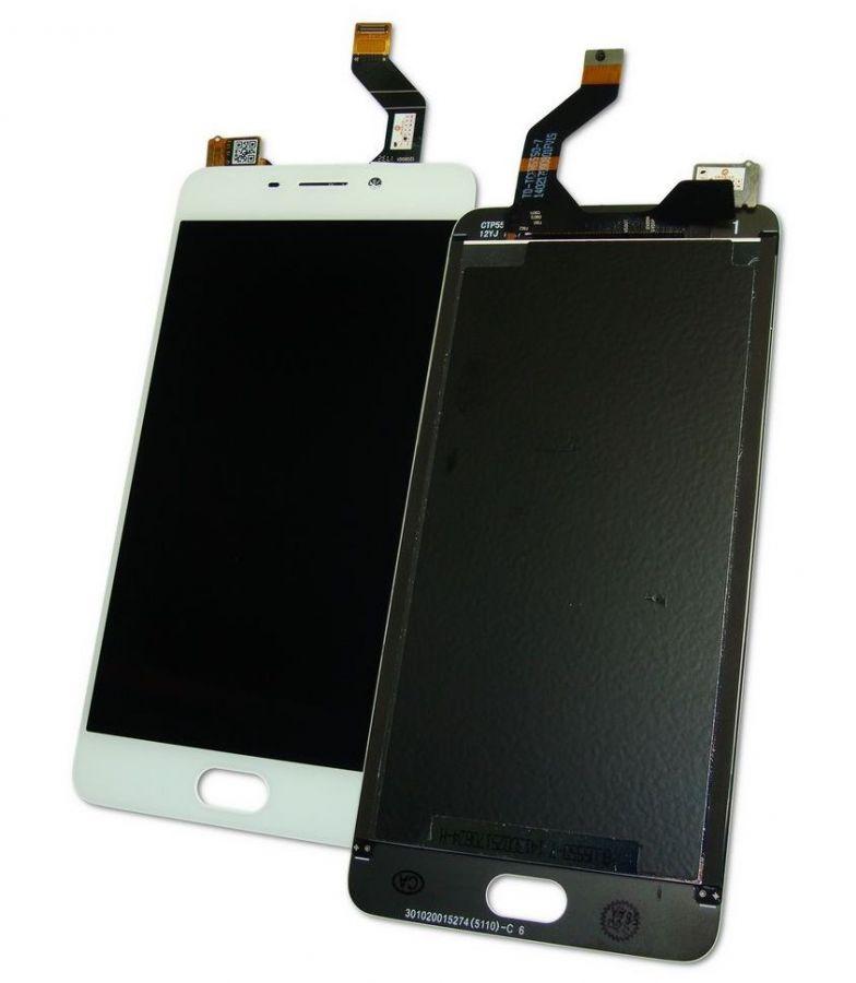 LCD (Дисплей) Meizu M6 (в сборе с тачскрином) (white) Оригинал