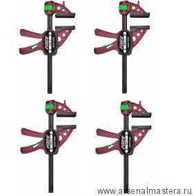 Комплект 4 шт Струбцин Extra Quick-Piher 15х8см 1500N быстрозажимная 52615 М00015948